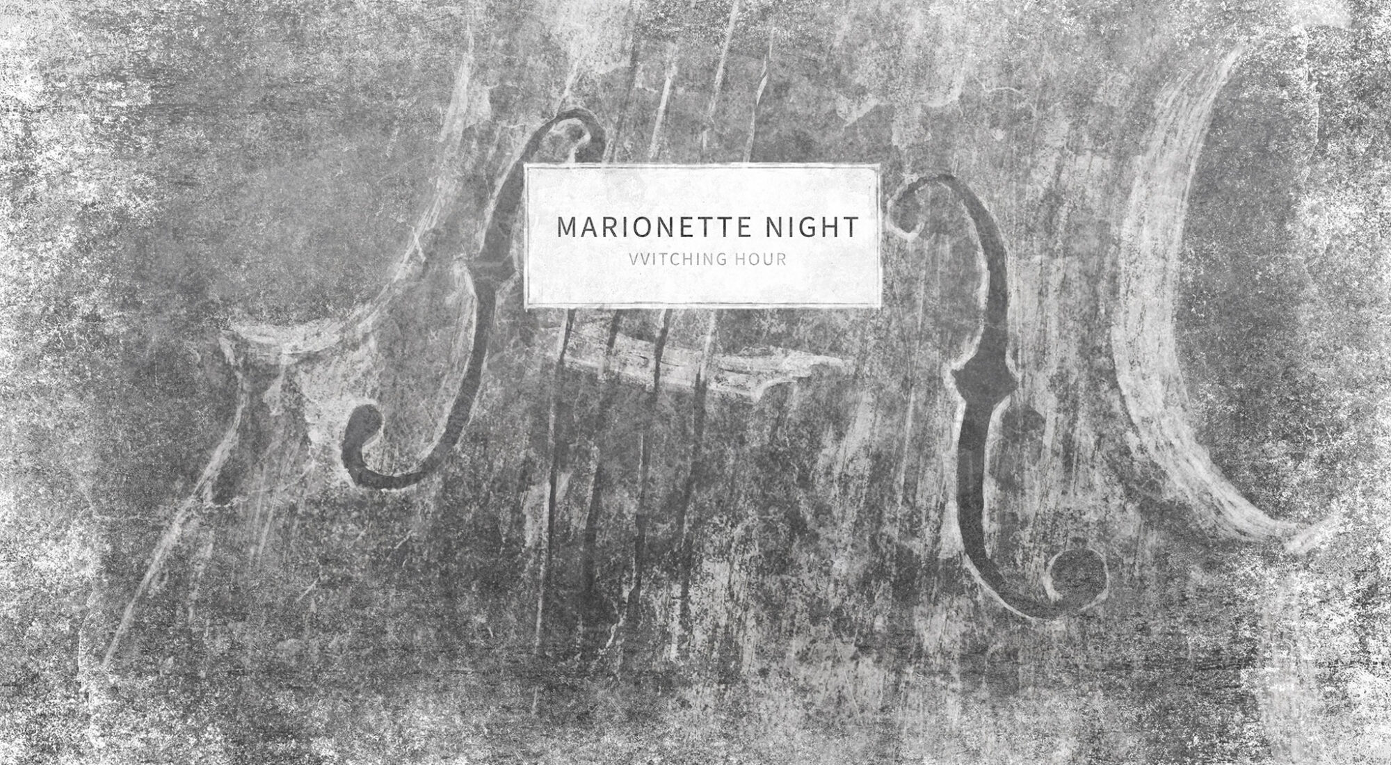 Cover image marionette night